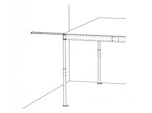 Wall stability bar