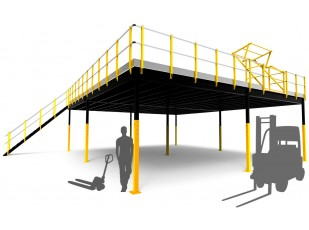 XL Industrial Mezzanine pack 120 m²