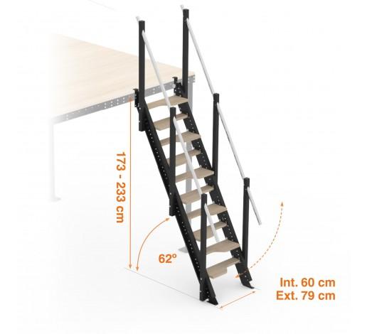 s alternating tread stairs