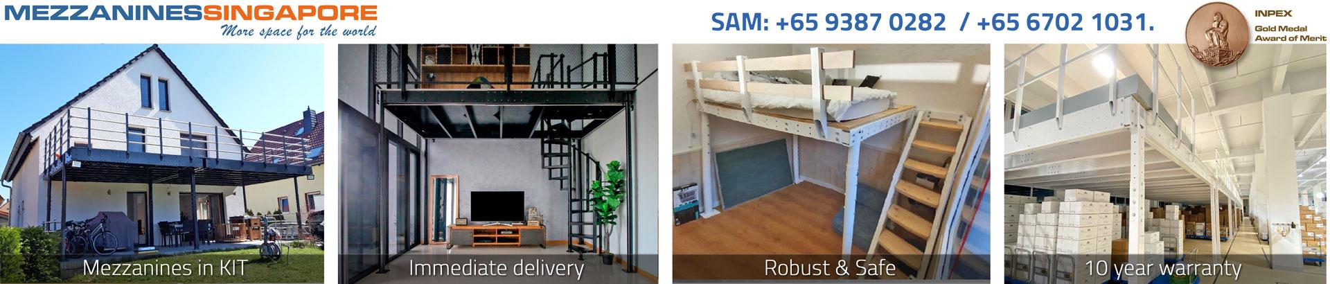Mezzanines kit - MezzaninesSingapore.com